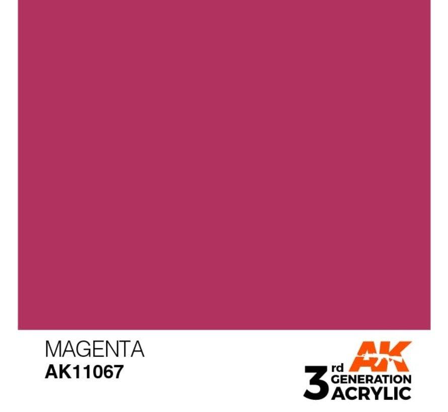 11067 AK Interactive 3rd Gen Acrylic Magenta 17ml