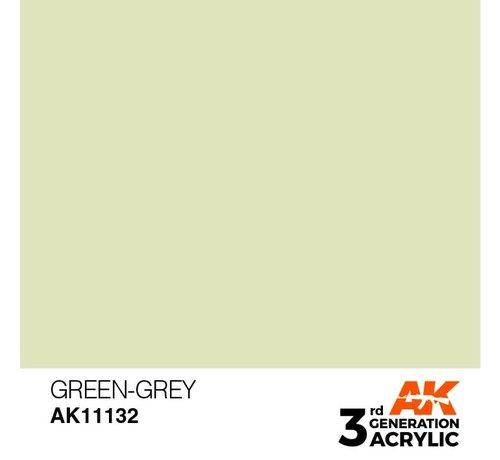 AK INTERACTIVE (AKI) 11132 AK Interactive 3rd Gen Acrylic Green-Grey 17ml