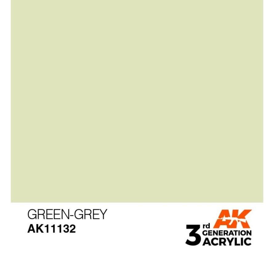 11132 AK Interactive 3rd Gen Acrylic Green-Grey 17ml