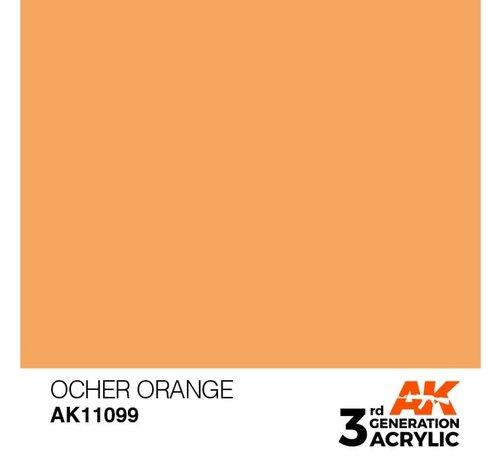 AK INTERACTIVE (AKI) 11099 AK Interactive 3rd Gen Acrylic Ocher Orange 17ml