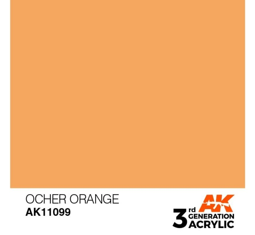 11099 AK Interactive 3rd Gen Acrylic Ocher Orange 17ml