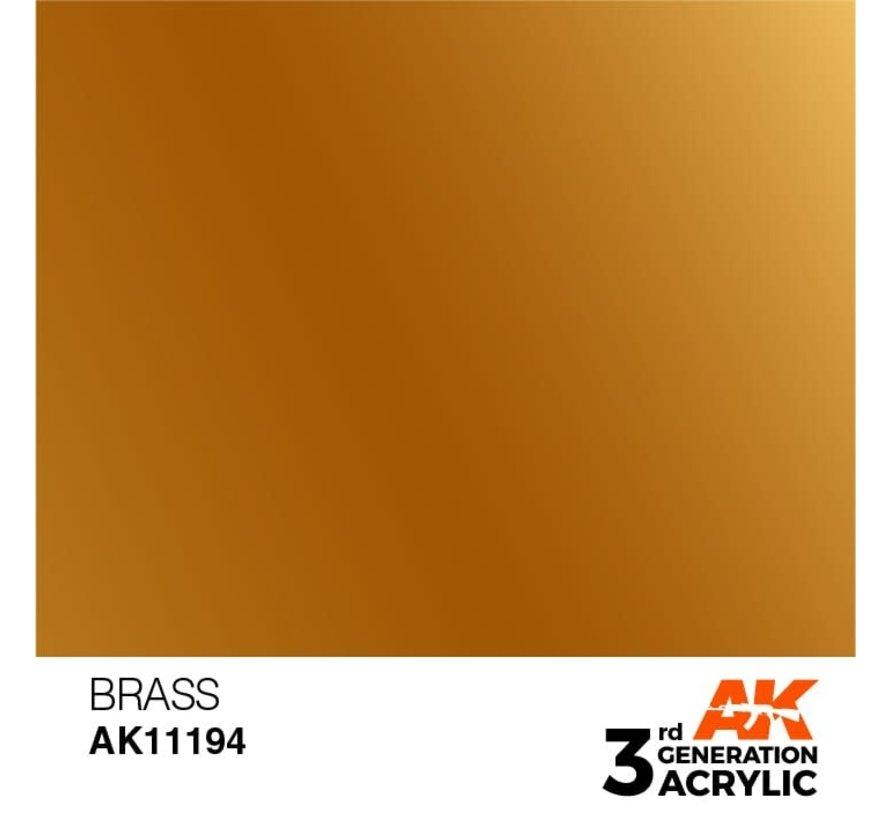 11194 Brass 3rd Gen Acrylic 17ml