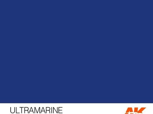 AK INTERACTIVE (AKI) 11179 Ultramarine 3rd Gen Acrylic 17ml