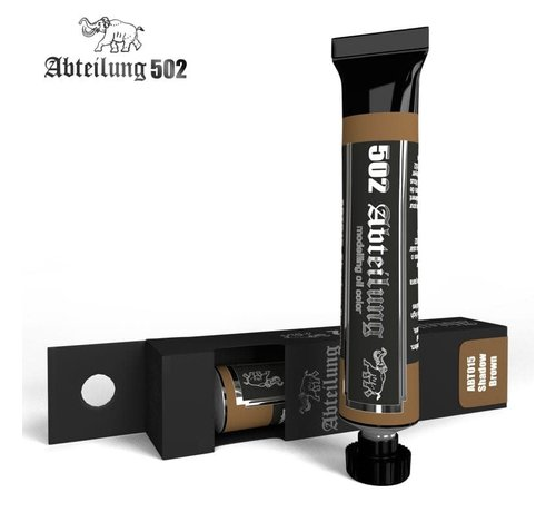 Abteilung 502 015 Weathering Oil Paint Shadow Brown 20ml Tube
