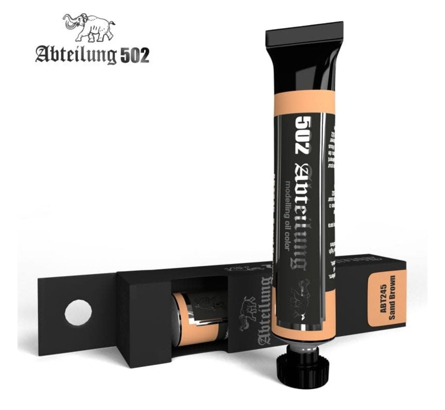 245 Weathering Oil Paint Sand Brown 20ml Tube