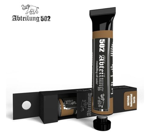 Abteilung 502 090 Weathering Oil Paint Industrial Earth  20ml Tube