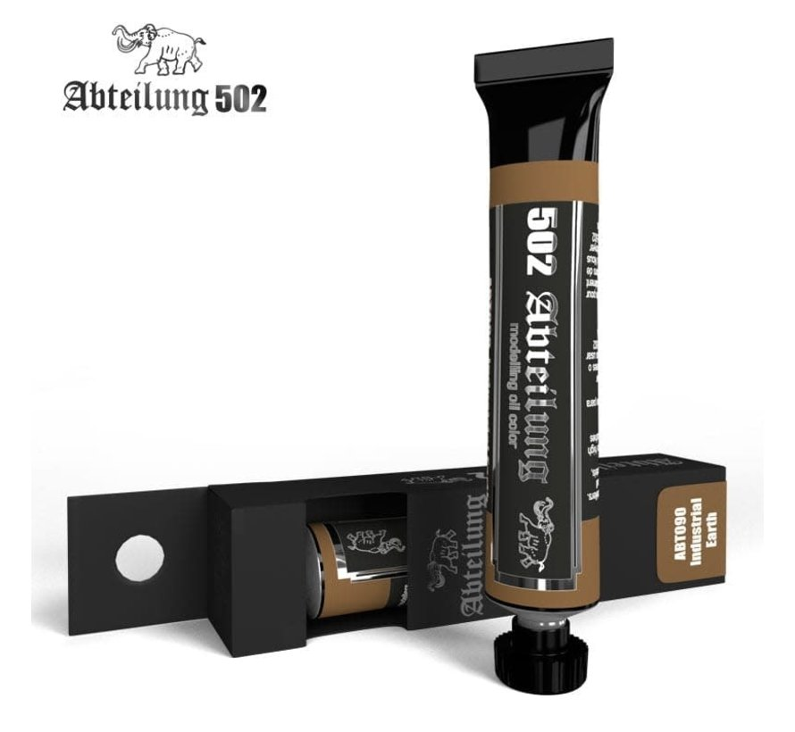 090 Weathering Oil Paint Industrial Earth  20ml Tube