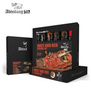 Abteilung 502 304 Rust and Red Colors Set