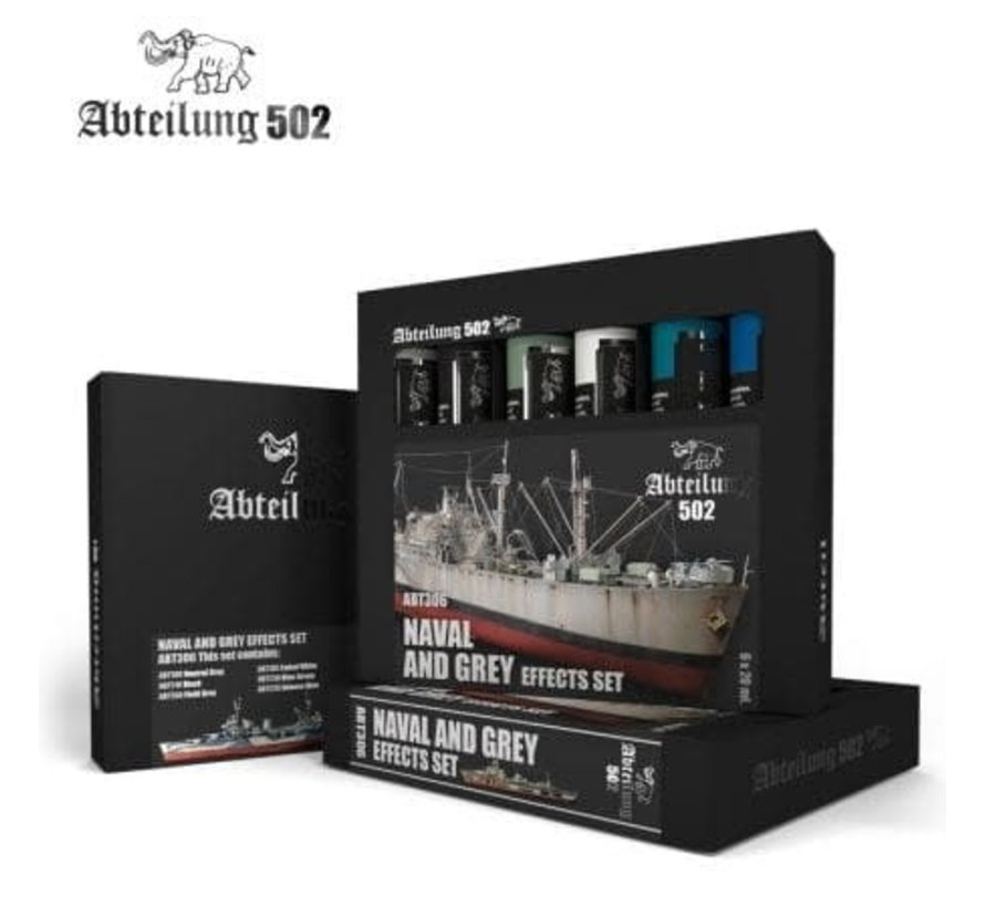 306 Naval and Grey Effects Set