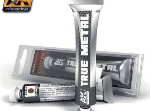 AK INTERACTIVE (AKI) 454 True Metal Wax Copper 20ml Tube