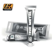 AK INTERACTIVE (AKI) 457 True Metal Wax Steel 20ml Tube