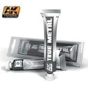 AK INTERACTIVE (AKI) 458 True Metal Wax Silver 20ml Tube