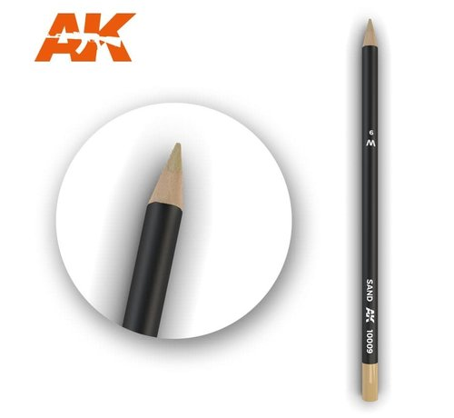 AK INTERACTIVE (AKI) 10009 Weathering Pencils  Sand