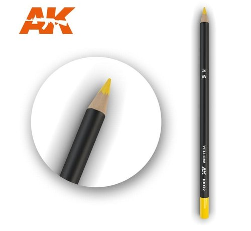 AK INTERACTIVE (AKI) 10032 Weathering Pencils  Yellow