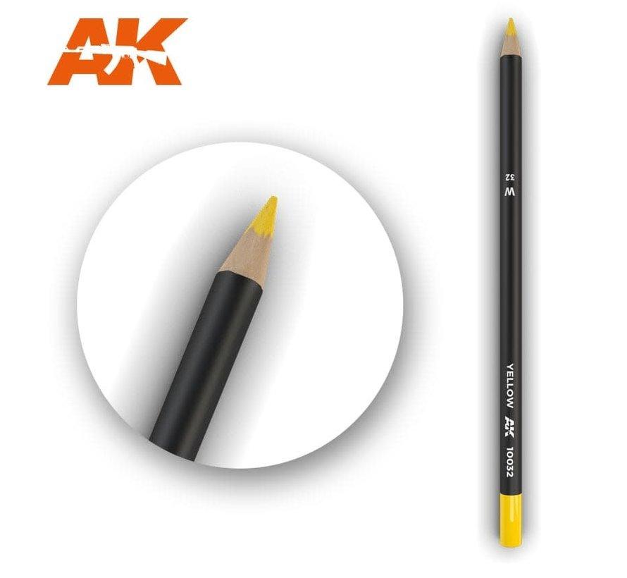 10032 Weathering Pencils  Yellow