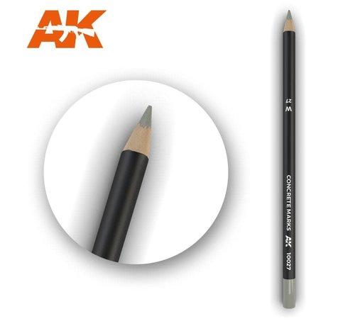 AK INTERACTIVE (AKI) 10027 Weathering Pencils  Concrete Marks
