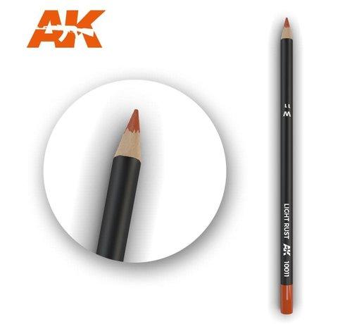 AK INTERACTIVE (AKI) 10011 Weathering Pencils  Light Rust