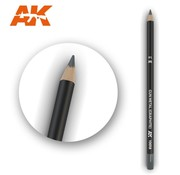 AK INTERACTIVE (AKI) 10018 Weathering Pencils  Gun Metal (Graphite)
