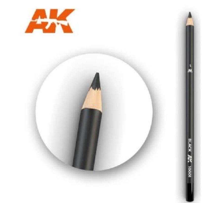 10001 Weathering Pencils  Black