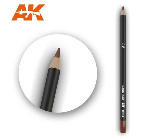 AK INTERACTIVE (AKI) 10013 Weathering Pencils  Dark Rust