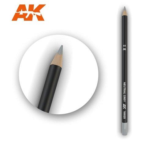 AK INTERACTIVE (AKI) 10025 Weathering Pencils  Neutral Grey