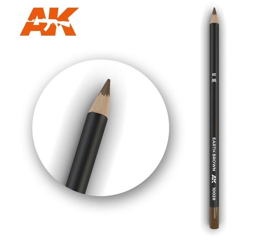 10028 Weathering Pencils  Earth Brown