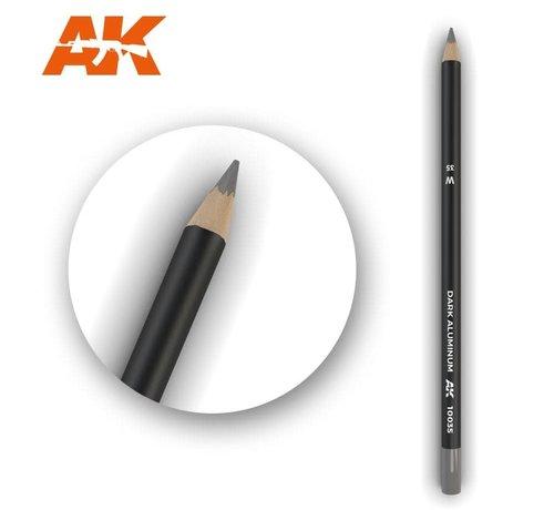 AK INTERACTIVE (AKI) 10035 Weathering Pencils  Dark Aluminum