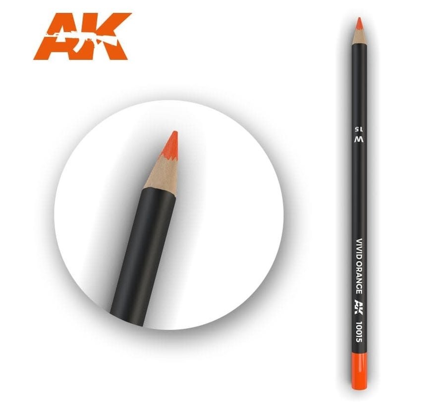 10015 Weathering Pencils Vivid Orange