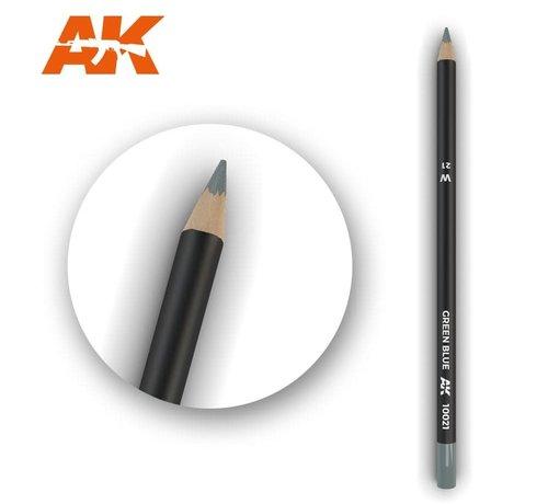 AK INTERACTIVE (AKI) 10021Weathering Pencils  Green Blue