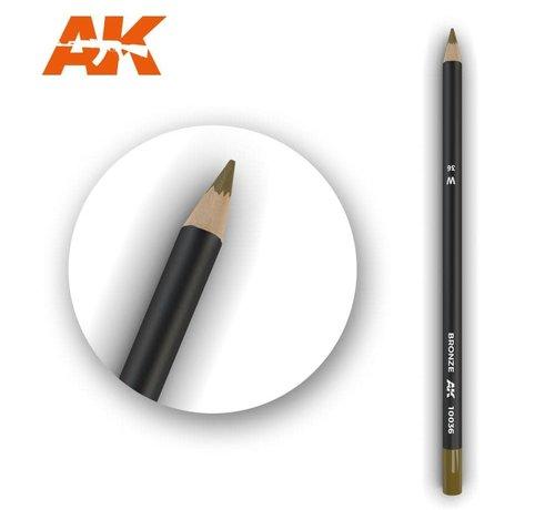 AK INTERACTIVE (AKI) 10036 Weathering Pencils  Bronze