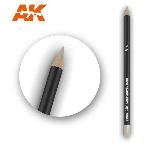 AK INTERACTIVE (AKI) 10026 Weathering Pencils  Dust/Rainmarks
