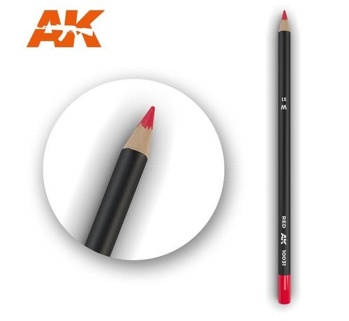 AK INTERACTIVE (AKI) 10031 Weathering Pencils  Red