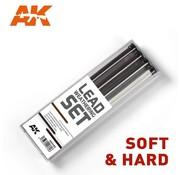 AK INTERACTIVE (AKI) 4188 Lead Weathering Hard Pencil Set (4)