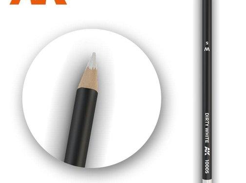 AK INTERACTIVE (AKI) 10005 Weathering Pencils  Dirty White