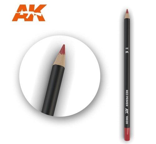 AK INTERACTIVE (AKI) 10020 Weathering Pencils  Red Primer