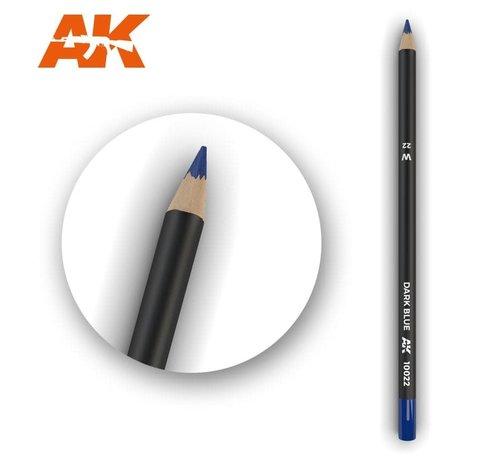 AK INTERACTIVE (AKI) 10022 Weathering Pencils  Dark Blue