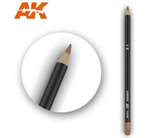 AK INTERACTIVE (AKI) 10037 Weathering Pencils  Copper