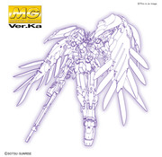 "Bandai 2516450  Wing Gundam Zero (EW) Ver. Ka ""Endless Waltz"", Bandai Spirits MG 1/100"
