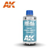 AK INTERACTIVE (AKI) RC701 Real Colors  High Compatibility Thinner 200ml Bottle
