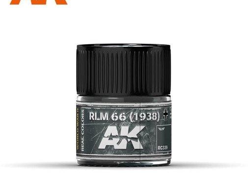 AK INTERACTIVE (AKI) RC339 RLM 66 (1938) Acrylic Lacquer Paint 10ml Bottle