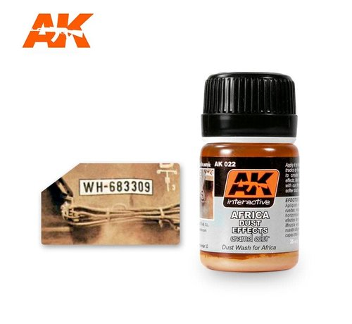 AK INTERACTIVE (AKI) 22 Africa Dust Effects Enamel Paint 35ml Bottle