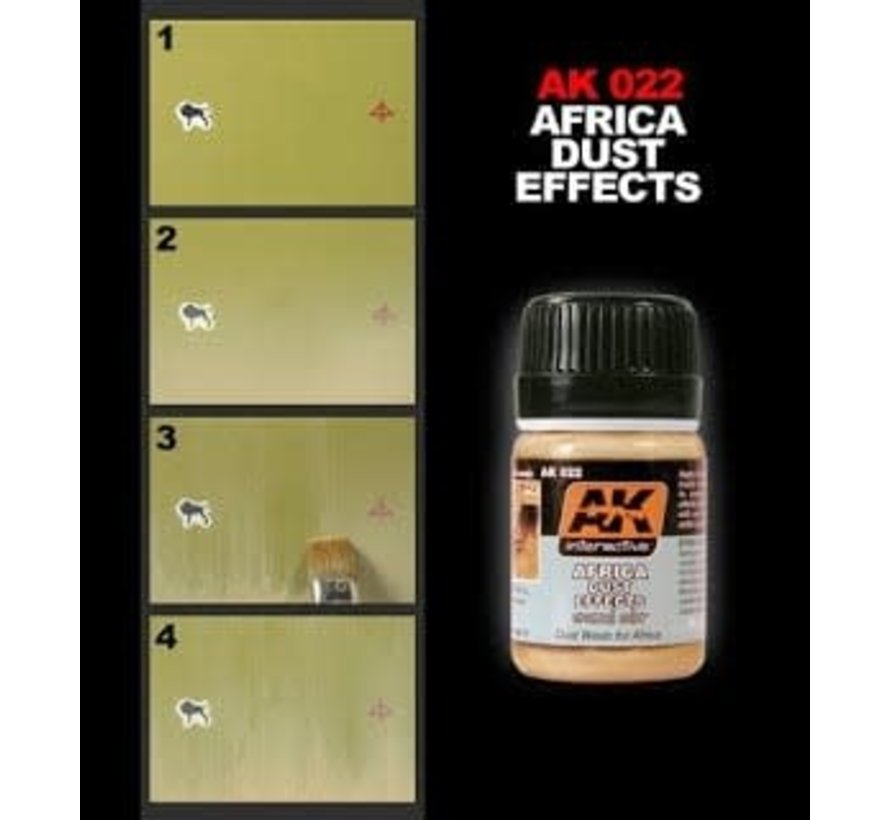 22 Africa Dust Effects Enamel Paint 35ml Bottle