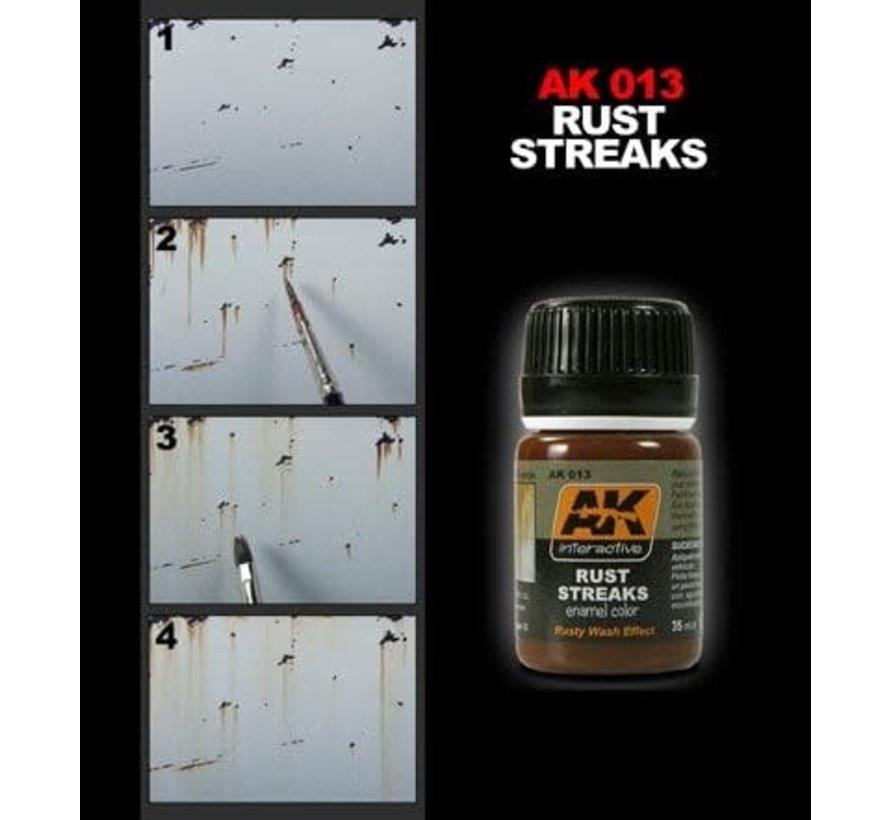 13 Rust Streaks Enamel Paint 35ml Bottle