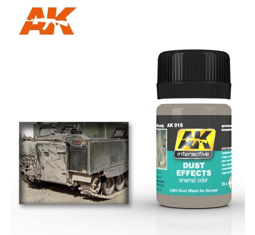 15 Dust Effects Enamel Paint 35ml Bottle