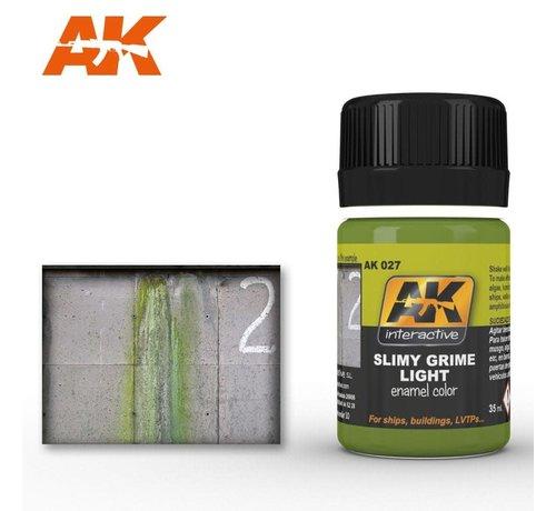 AK INTERACTIVE (AKI) 27 Slimy Grime Light Enamel Paint 35ml Bottle
