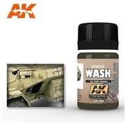 AK INTERACTIVE (AKI) 66 DAK Vehicle Wash Enamel Paint 35ml Bottle