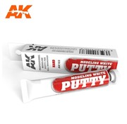 AK INTERACTIVE (AKI) 103 White Acrylic Modeling Hard Putty 20ml Tube