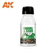 AK INTERACTIVE (AKI) 118 Gravel & Sand Fixer Enamel 100ml Bottle