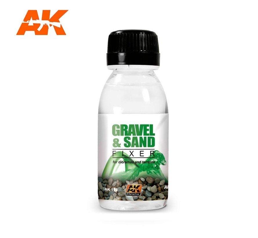 118 Gravel & Sand Fixer Enamel 100ml Bottle