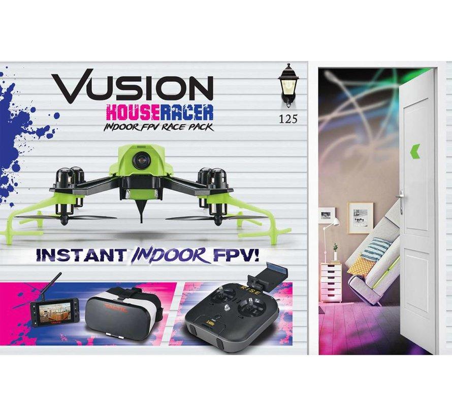 (D)  0207 Vusion Houseracer 125 FPV Race Quad RTF